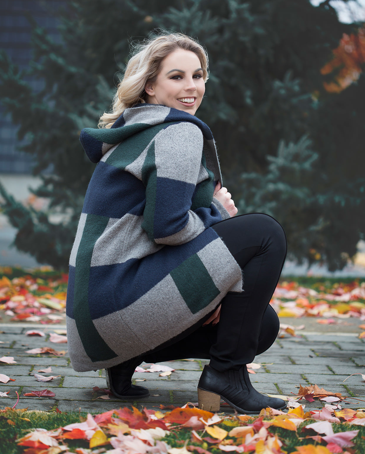 Spectrum Hooded Cardi