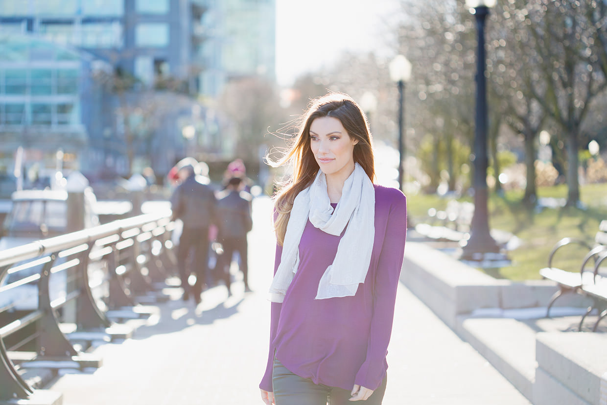 Silver Icing The Perfect Transitional Scarf for Spring