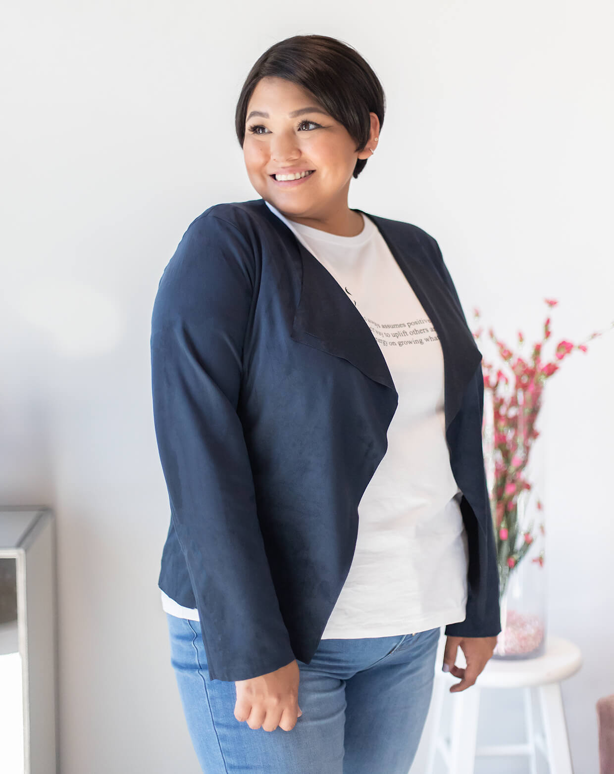 Silver Icing Name It to Win It Spotlight: Faux Suede Belted Jacket
