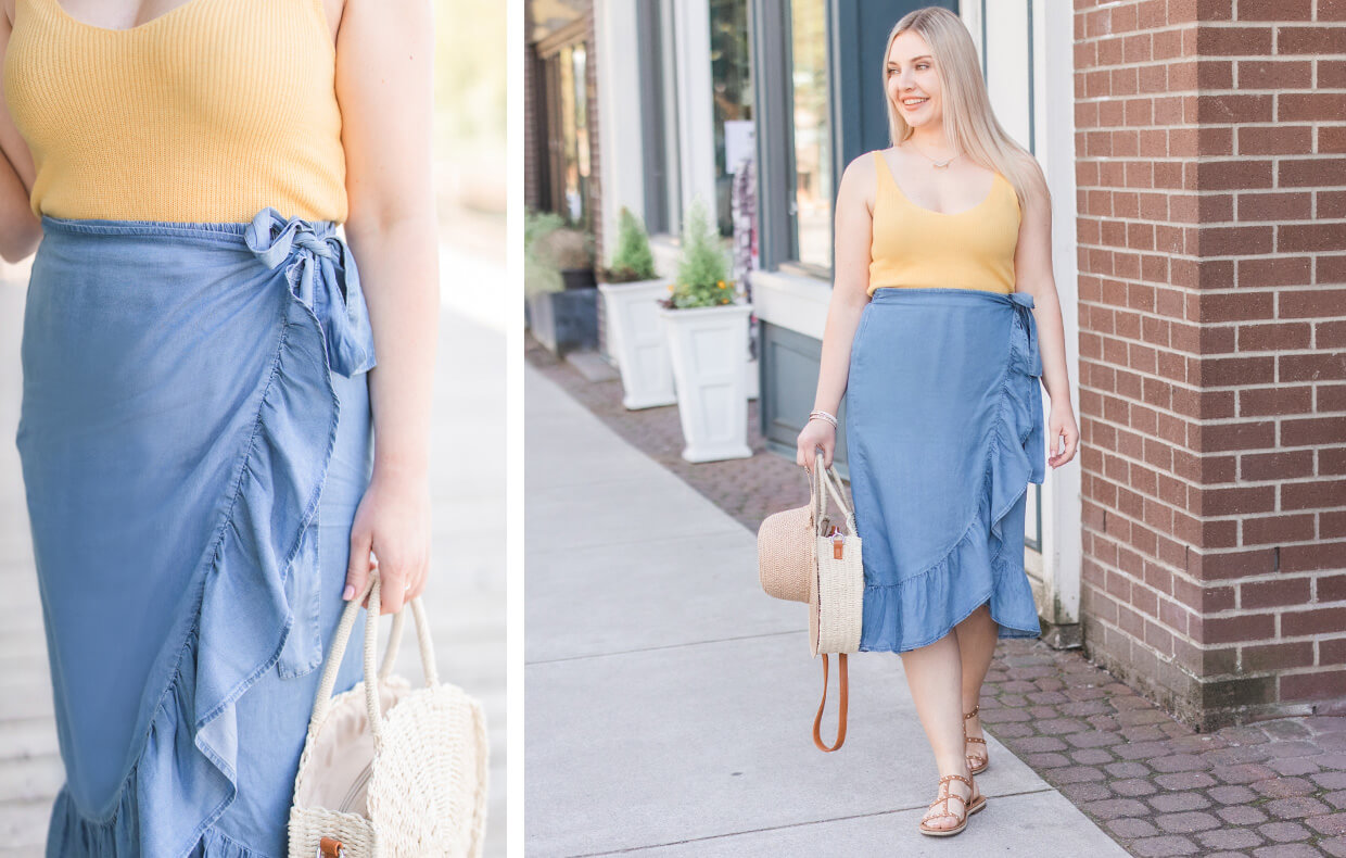 Silver Icing Name It to Win It Spotlight: Chambray Skirt