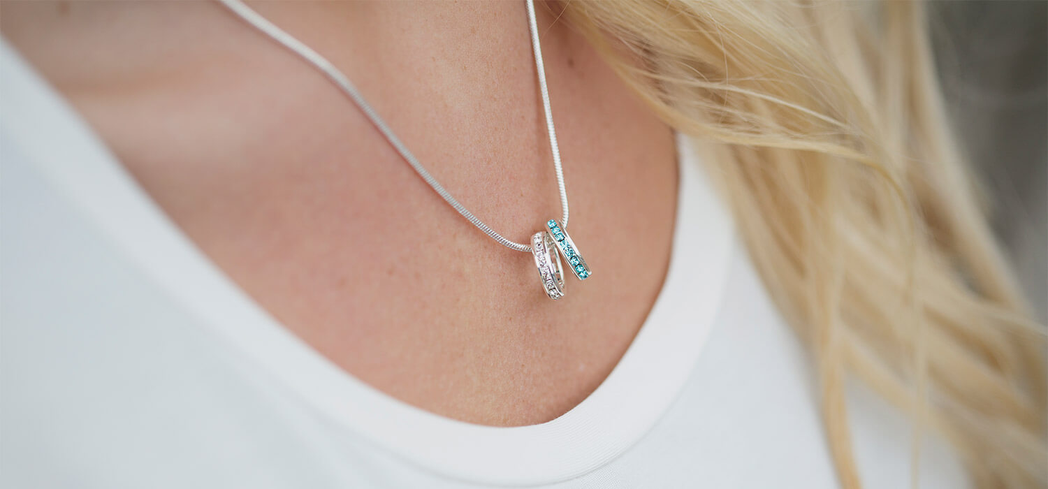 Celebrate Family With a Personalized Necklace