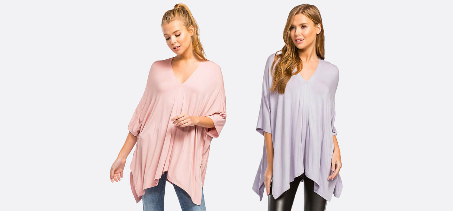 Cherish Poncho Top