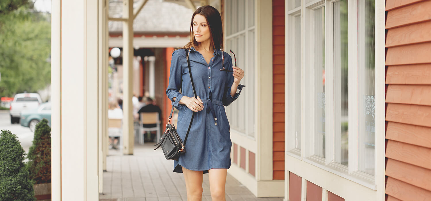High Life Denim Dress