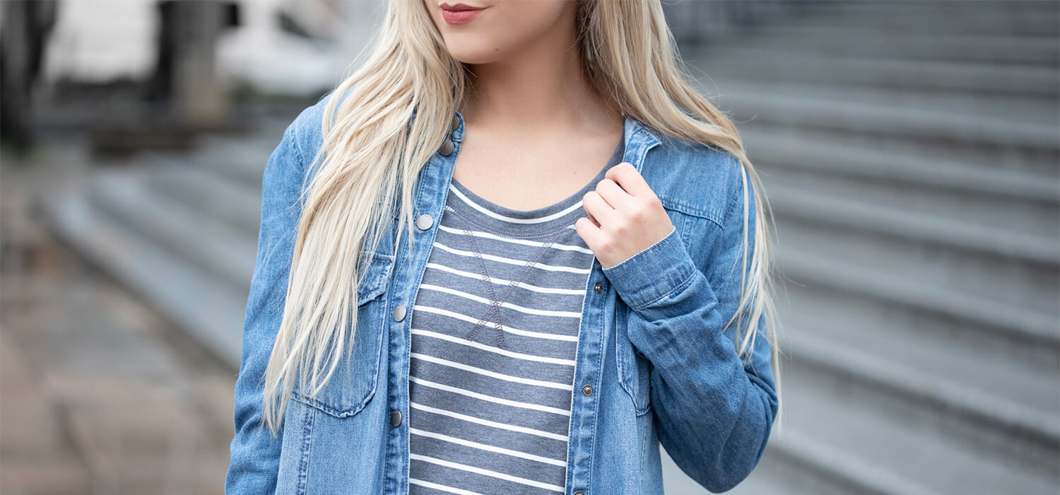 New Ways to Wear a Striped Shirt