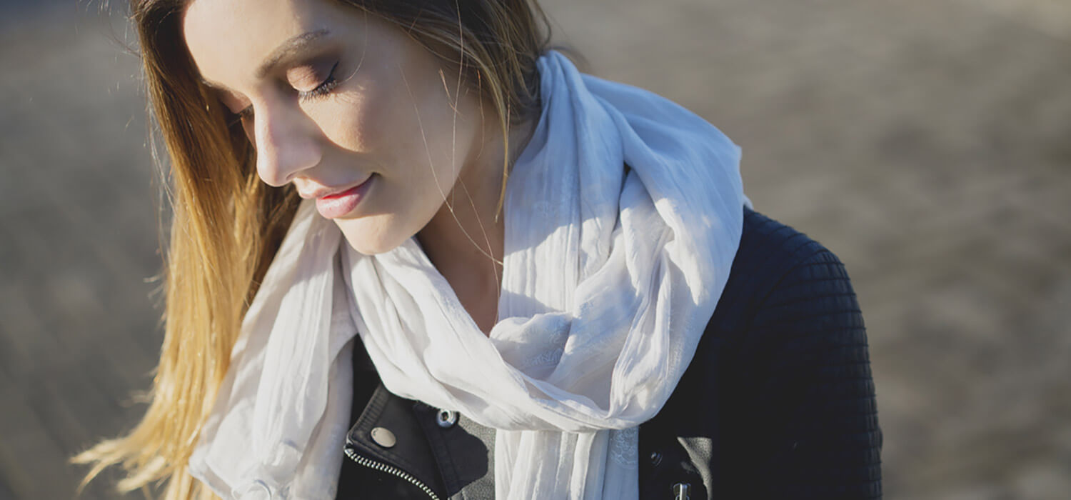 The Perfect Transitional Scarf for Spring