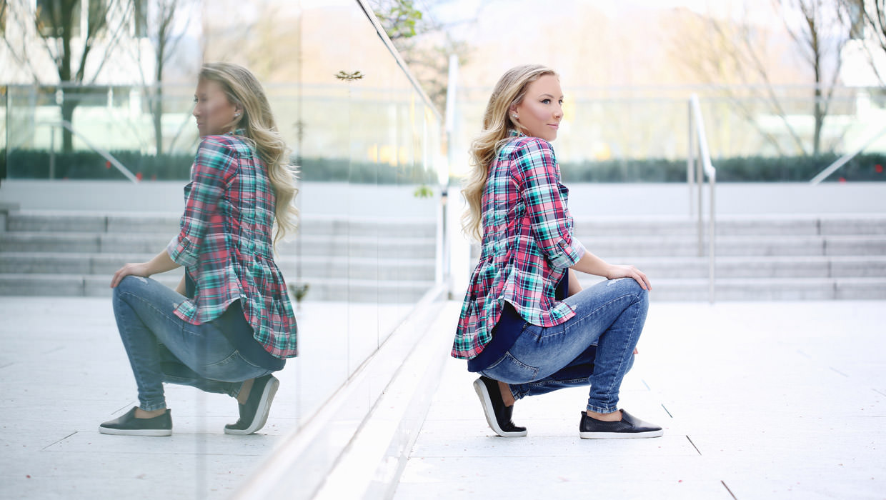 Your Everyday Plaid Shirt Styled 6 Ways