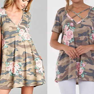 This or That? Camo Floral