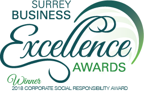 Silver Icing Business Excellence Awards 2018 Winner Corporate Social Responsiblity Category