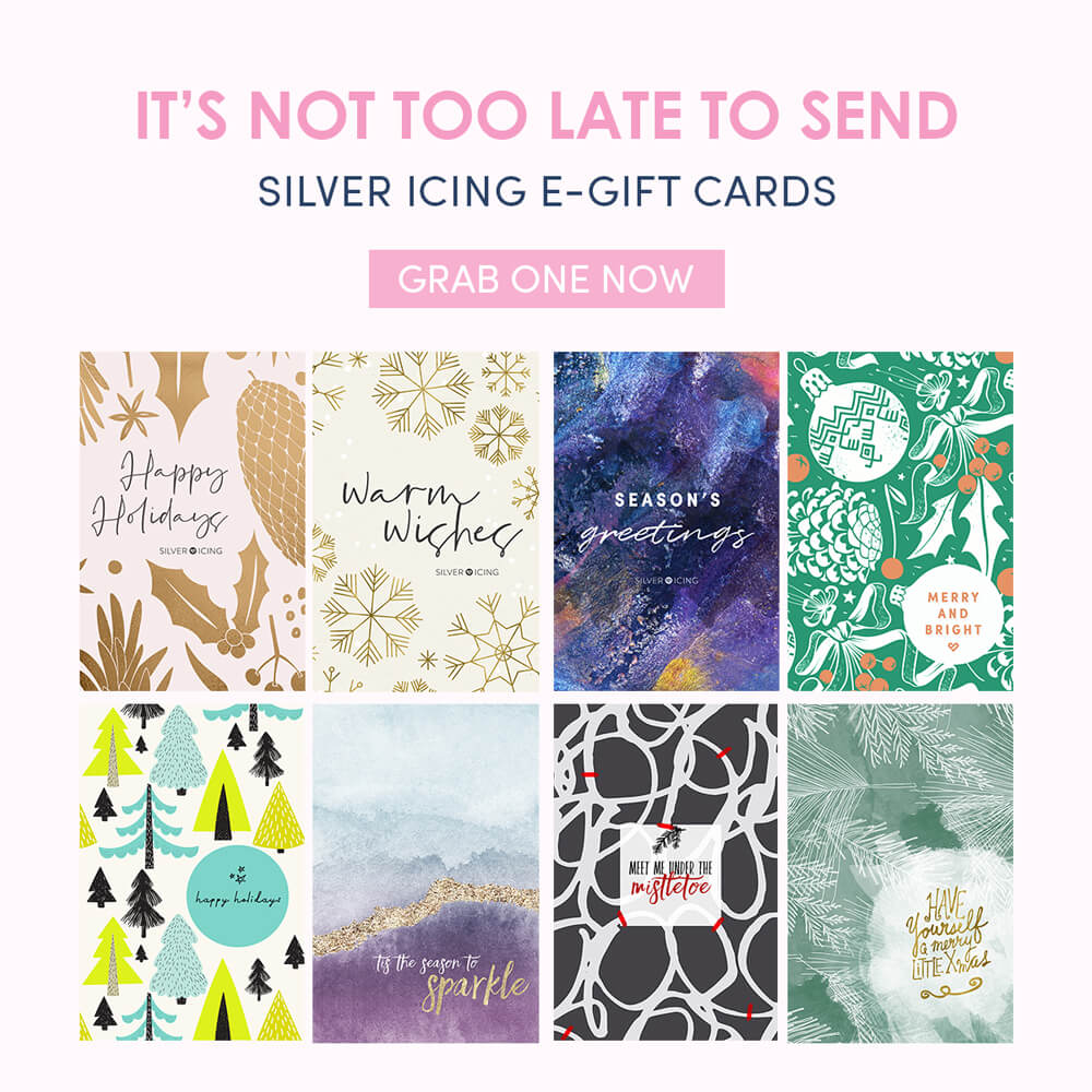 Still Looking for A Gift? Give Silver Icing E-Gift Cards!