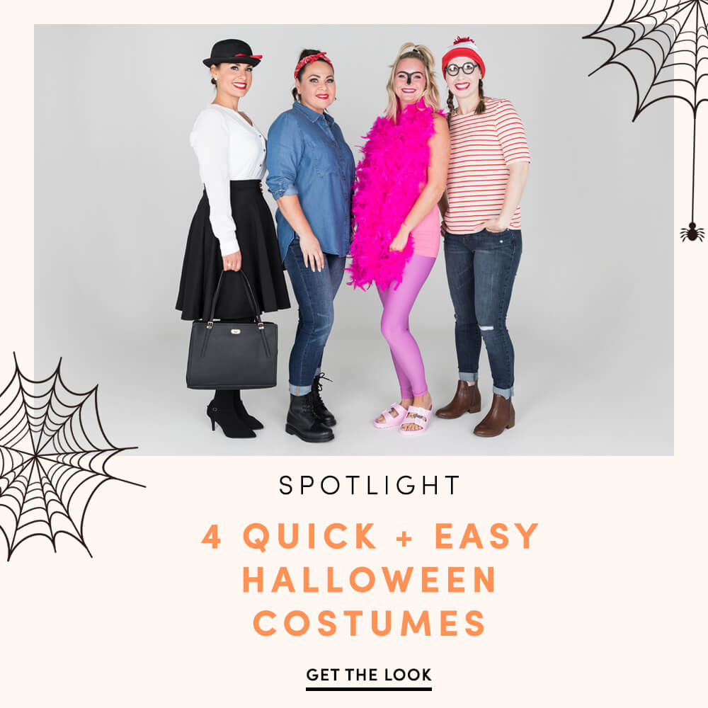 Silver Icing Get The Look Spotlight: Four Quick and Easy Halloween Costumes